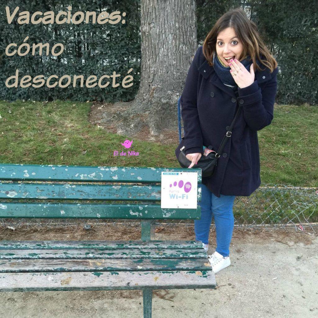 Vacaciones: cómo desconecté