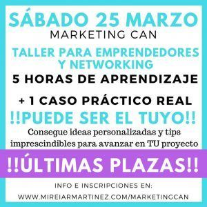 MarketingCan - ultimas plazas