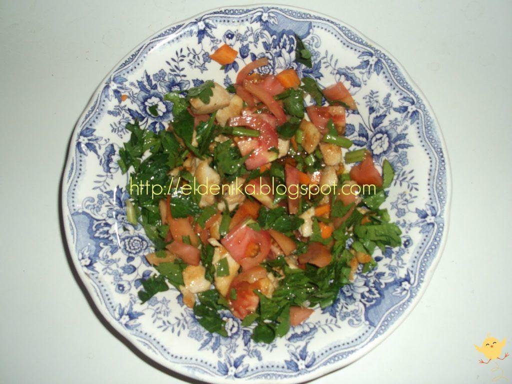 Ensalada de apio pollo tomate y zanahoria el de nika - Ensalada de apio y zanahoria ...